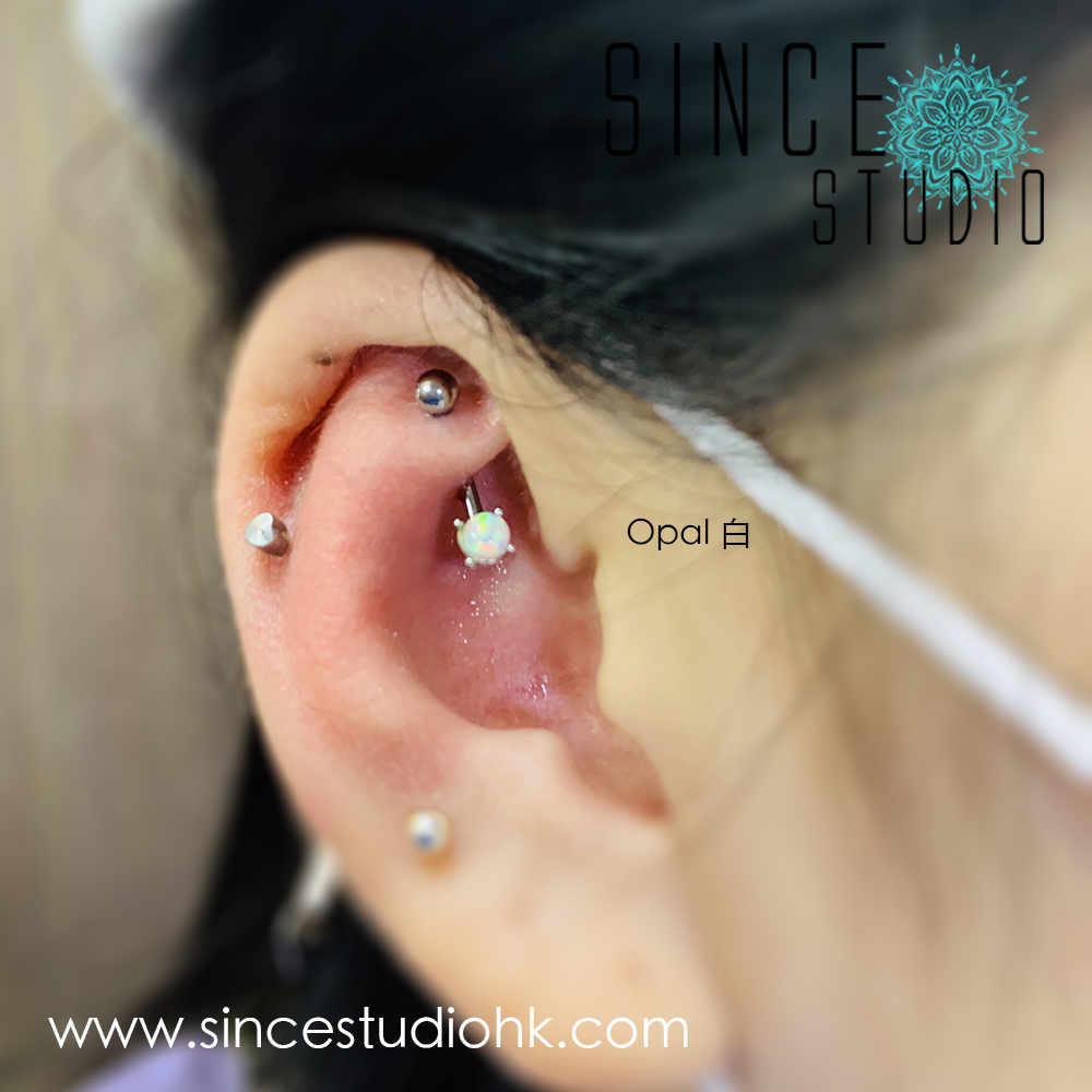 Opal石 Rook Curve barbell