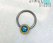 太陽花Nipple ring