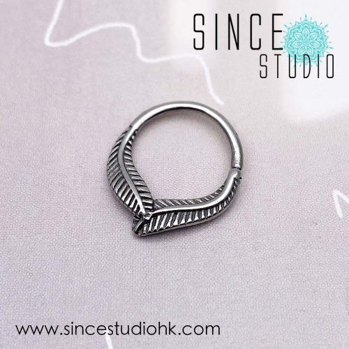 羽毛相遇Bendable Ring