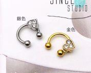 心形閃石Movable charm horseshoe