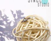 蛋白石小三角Bendable Ring