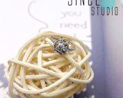 雪花閃石Bendable Ring