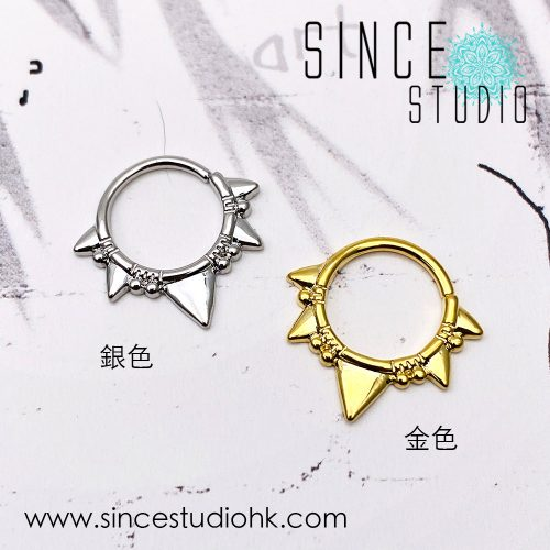 Punk style Bendable ring